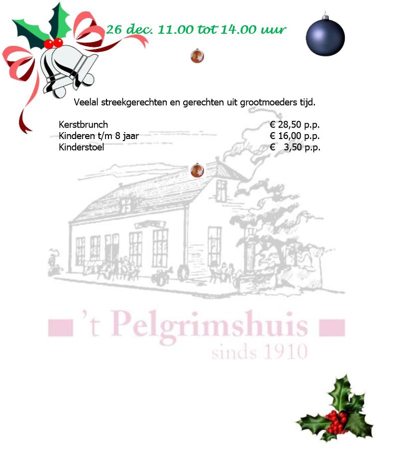Kerstbrunch Website Variant 1