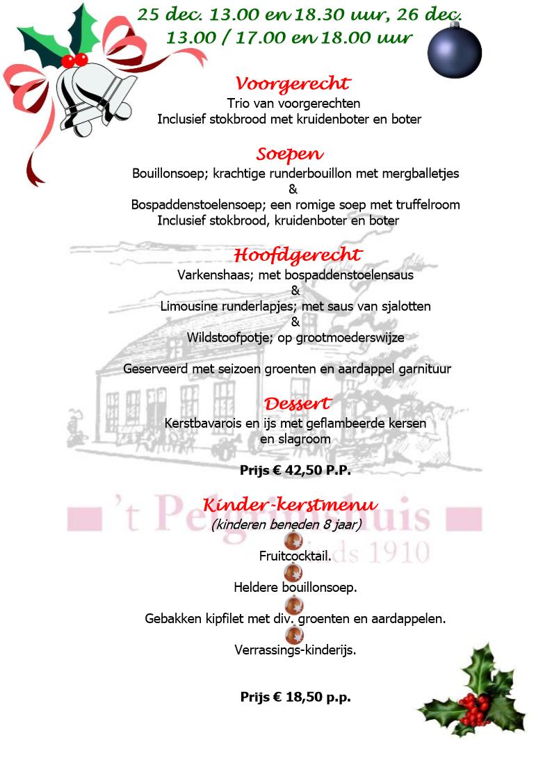 Kerstdiner Website Variant1