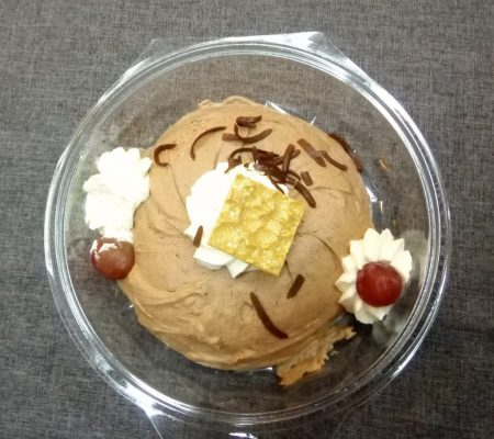 Voorbeeld Dessert Chocoladebavarois.